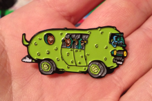 Moon Pickle Pin